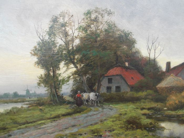 De Prins Ferdinand (1859-1905) - Hollands landschap
