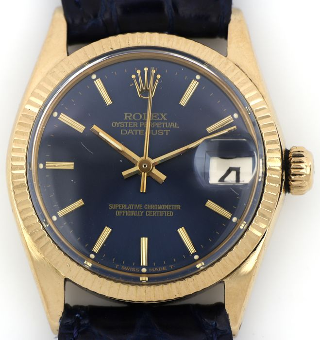 Rolex - Oyster Perpetual Datejust - 6624 '' NO RESERVE PRICE '' - Unisex - 1970-1979