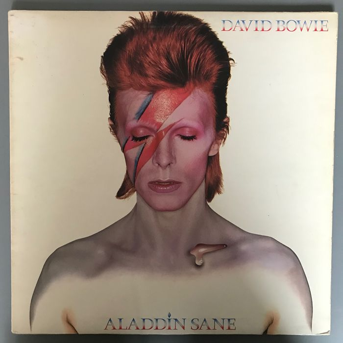 David Bowie - Aladdin Sane - LP Album - 1973