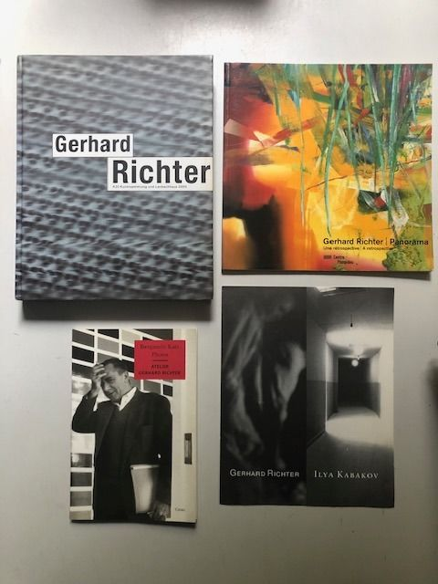 Gerhard Richter - Lot with 3 books - 1993/2012
