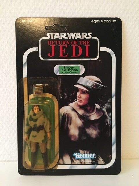 Star Wars Episode VI: Return of the Jedi - Kenner - Personnage d'action - vintage - 1984 - Princess Leia Organa in Combat Poncho