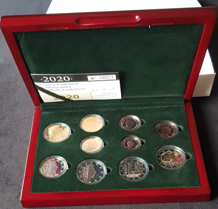 Luxembourg. Proof Set 2020