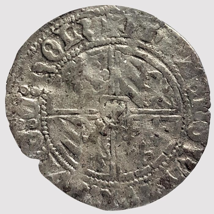 Netherlands, Holland. Filips de Goede (1433-1467). 1/2 Groot of Vierlander z.j.