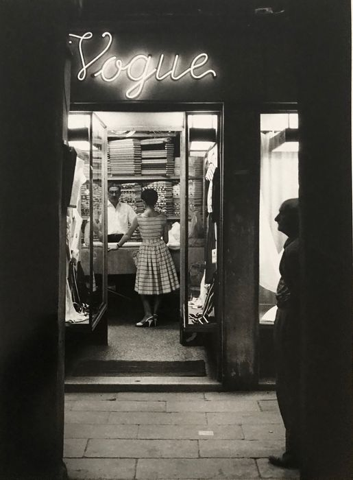 Willy Ronis (1910-2009) - Venise Vogue 1959