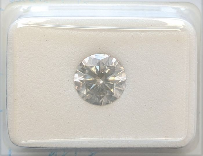 Diamant - 1.14 ct - Brillant - L - SI2, No Reserve Price