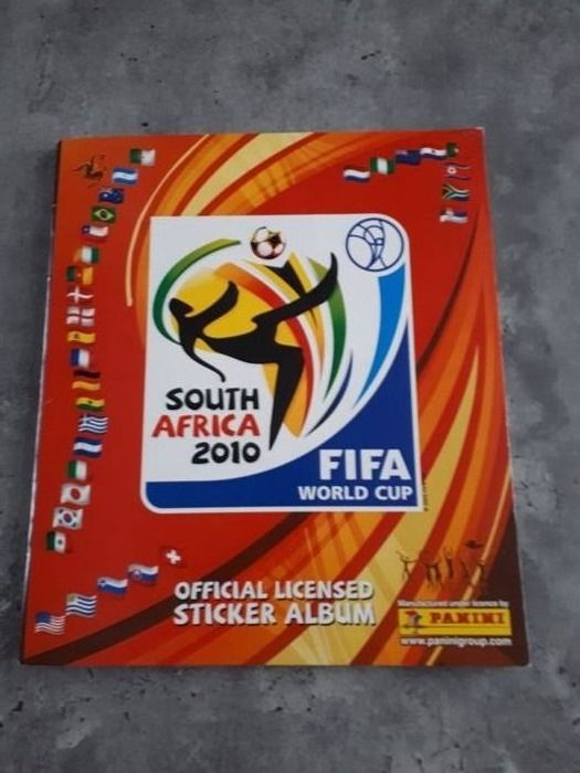 Panini - World Cup South Africa 2010 - Compleet album