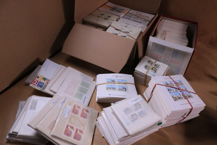 CEPT / United Europe 1974/1992 - Huge batch with more than 39040 MNH blocks and sheets