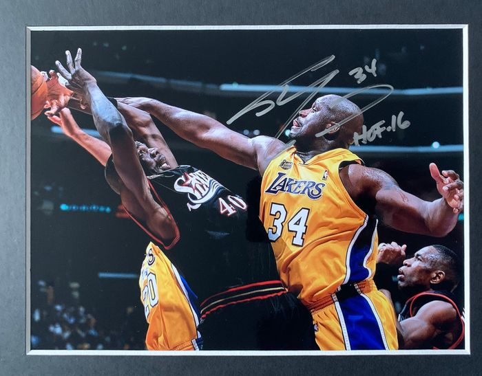 LA Lakers - Basketball - Shaquille O'Neal - Foto