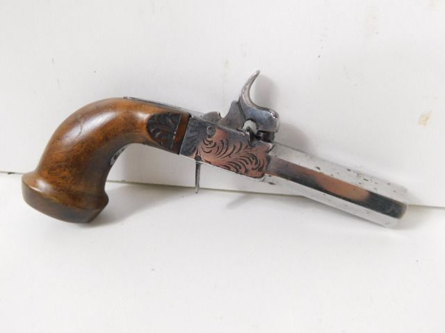 France - 19 eme siecle - Percussions - Pistolet - 14mm cal