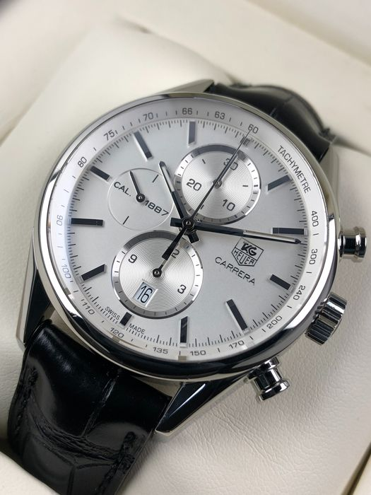TAG Heuer - Carrera Calibre 1887 Chronograph Automatic - CAR2111-3 - Heren - 2011-heden