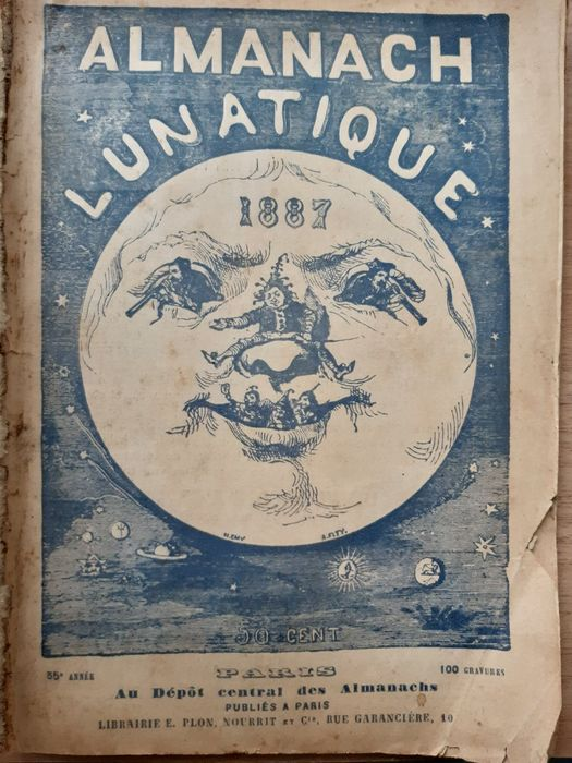 Almanach Lunatique - 1887