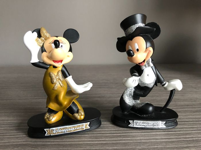 Disneyland - Mickey and Minnie Black and gold set (2007)