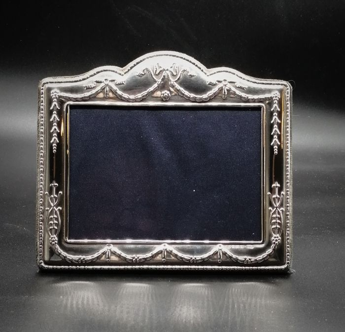 Photo or miniature frame (1) - .925 silver - Carrs of Sheffield - England - Late 20th century