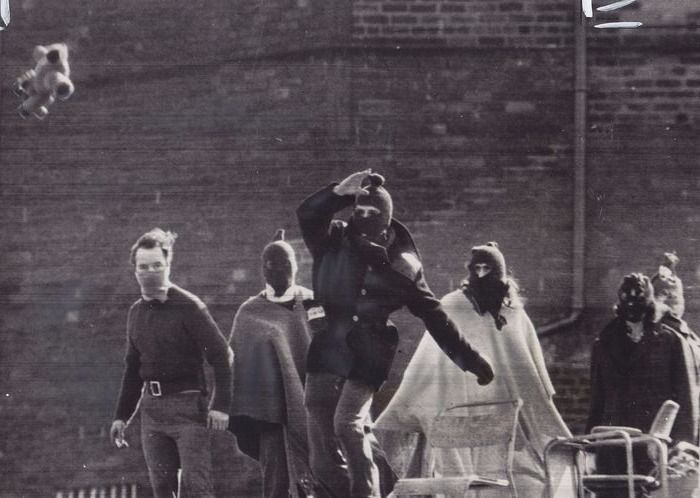 Daily Telegraph - The Hull Prison riot, 1976