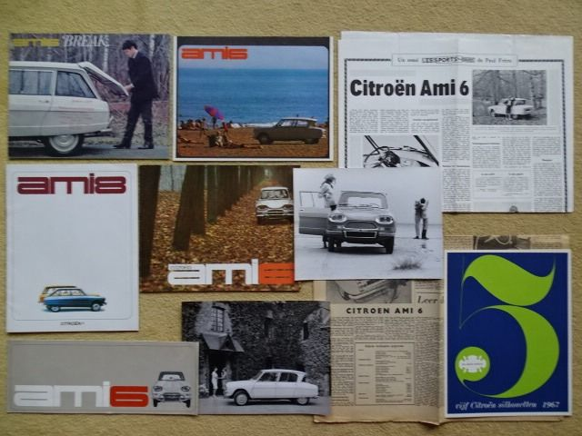 Folletos / Catálogos - Citroen Ami 6, Ami 6 Break & Ami  8 - CITROEN - 1961 - 1969