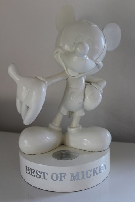 Disney - Best of Mickey - Beeld - Mickey Mouse in wit (2000)
