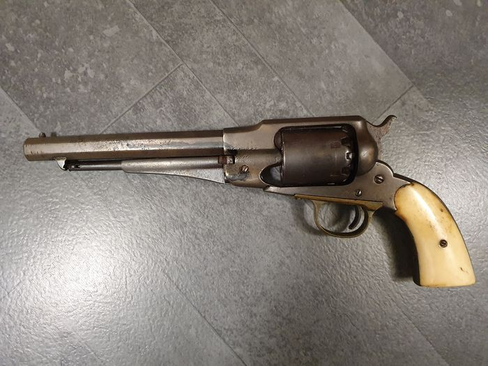 Belgique - Unknown - Remington Navy - Single Action (SA) - Percussions - Revolver - .44