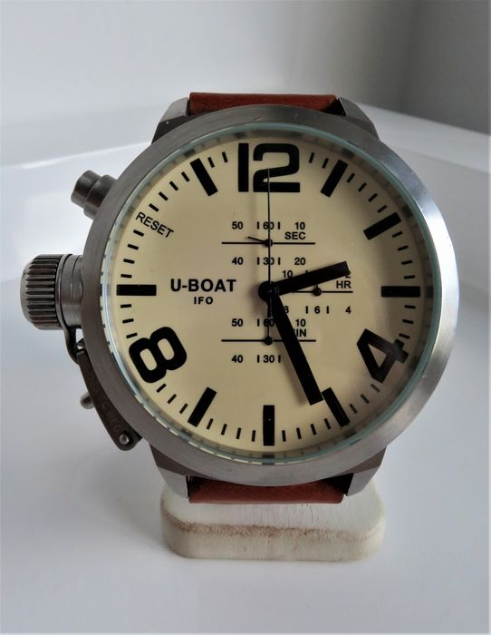 """U-Boat - Left Hook Limited Edition Chrono """"NO RESERVE PRICE"""" - A-0153 - Hombre - 2000 - 2010"""
