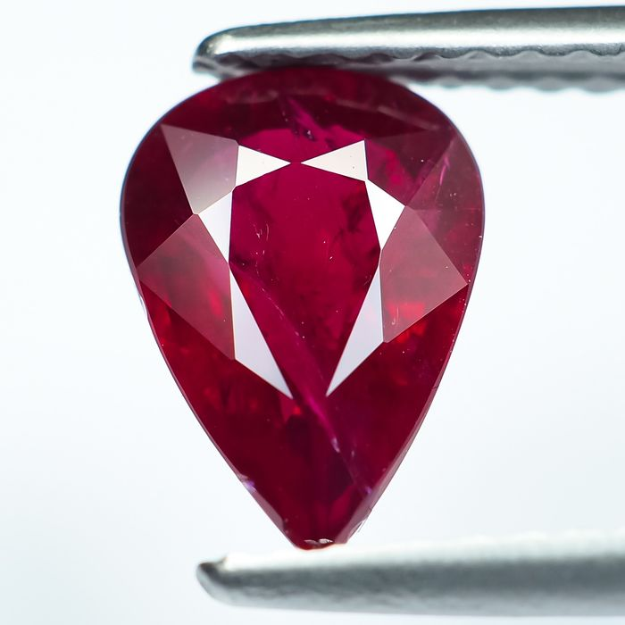 No Reserve - Red Ruby - 1.37 ct
