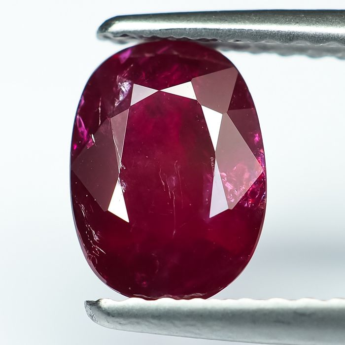 No Reserve - Red Ruby - 1.20 ct