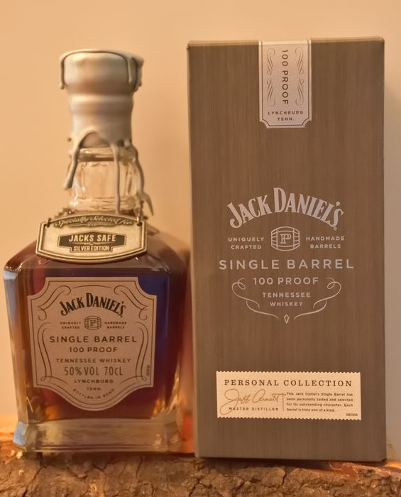 Jack Daniel's Jack's Safe Silver Edition - Original bottling - 70cl