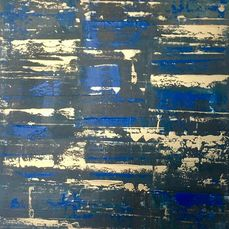 Alberto Stocco - Abstract- golden blue