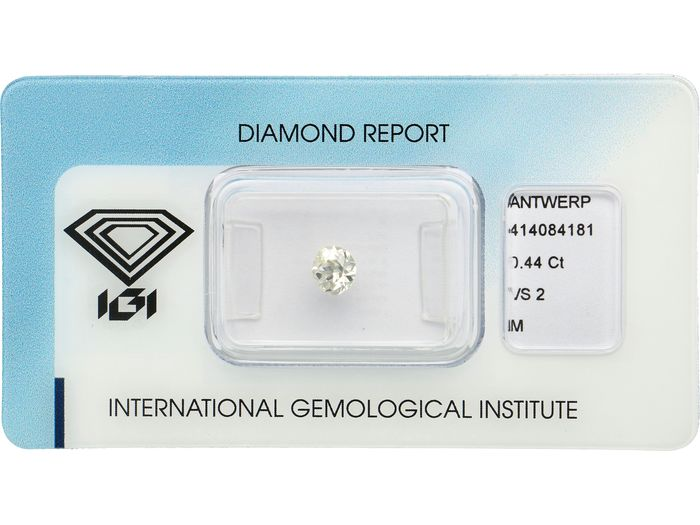 1 pcs Diamant - 0.44 ct - Coupe ovale rose - M - VS2 ***No Reserve***