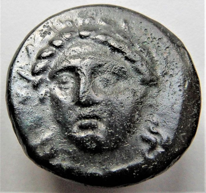 Ionia, Miletos. Æ 17mm,  260 - 245 v.Chr.