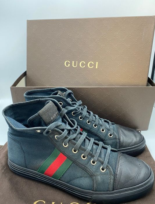 Gucci - High top signature - Baskets - Taille: Chaussures / UE 42