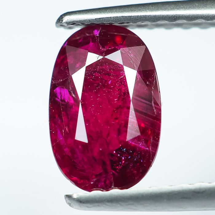 No Reserve - Red Ruby - 1.16 ct