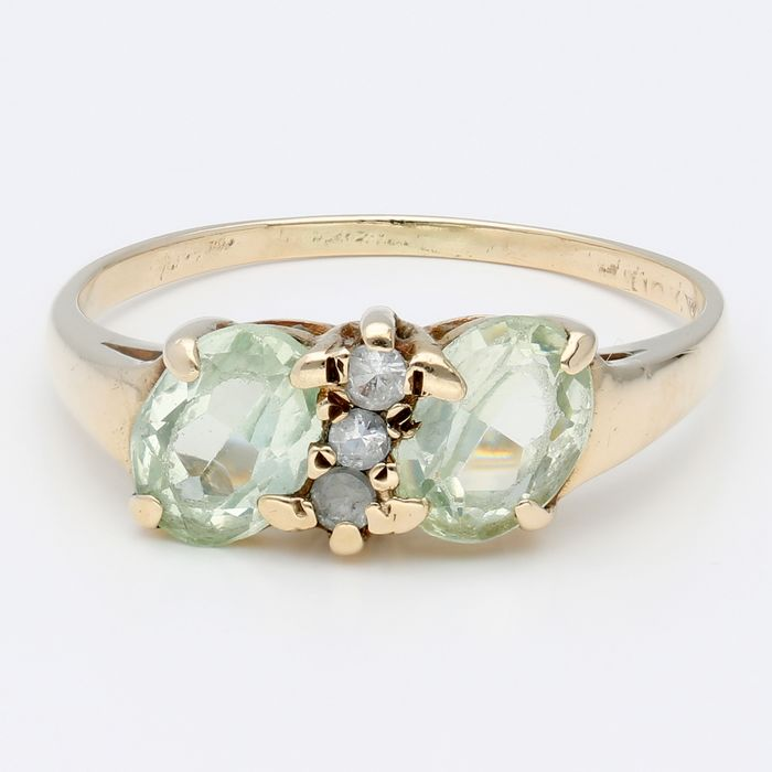 14 kt Gold - Ring - 1.67 ct Spinell