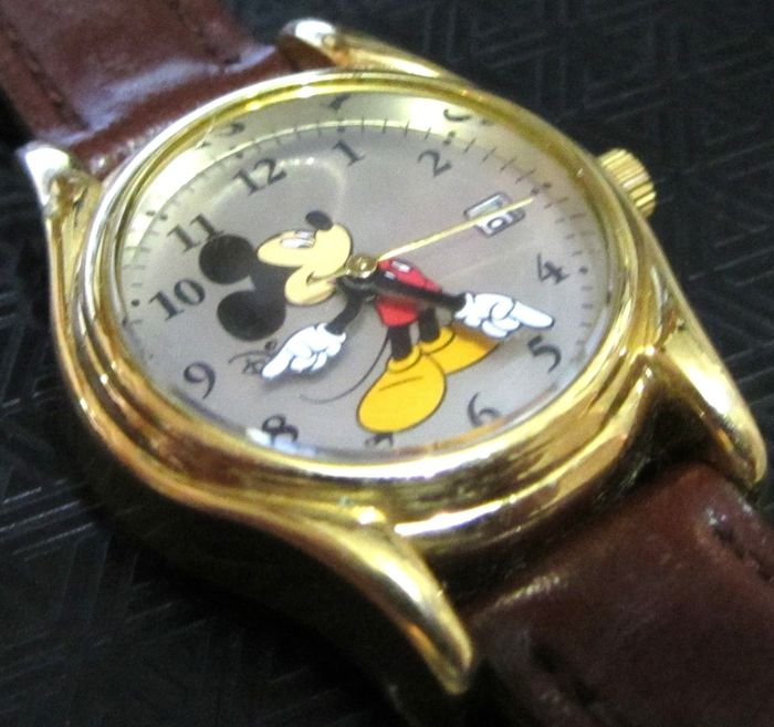 Mickey Mouse - Unisex 26mm Date Watch by SII0 Marketing MC 0076