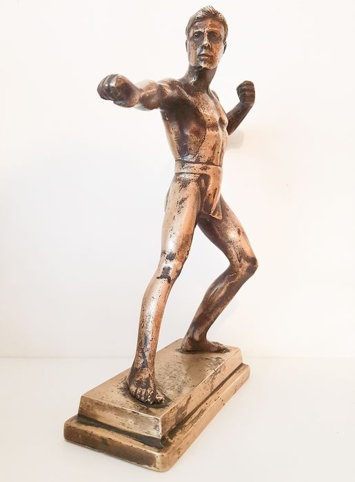 Picture of a boxer (1) - Bronze - First half 20th century