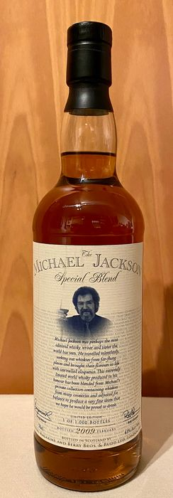 Michael Jackson Special Blend - Whisky Magazine & Berry Bros. Rudd - b. 2009 - 70cl