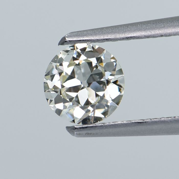 1 pcs Diamant - 0.39 ct - Rond - N - VS1  GIA Certified * No Reserve Price *