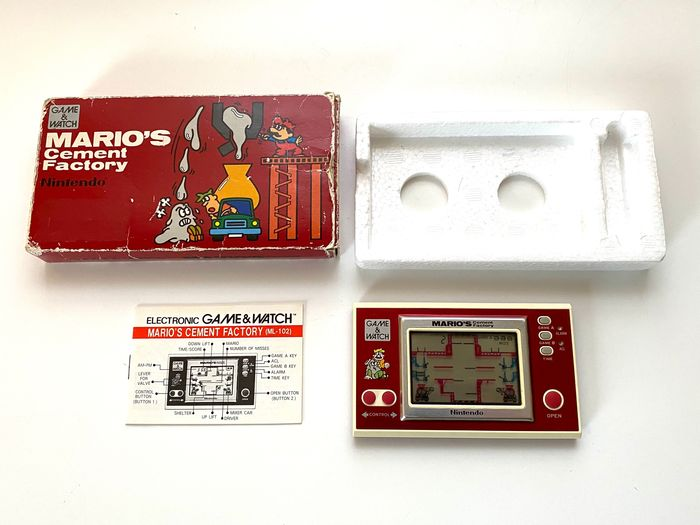 Nintendo - Game And Watch Mario Cement Factory