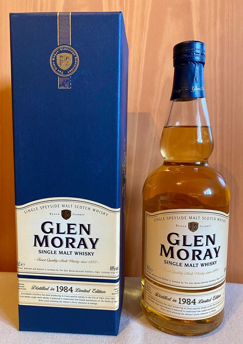 Glen Moray 1984 20 years old - Original bottling - b. 2004 - 70cl