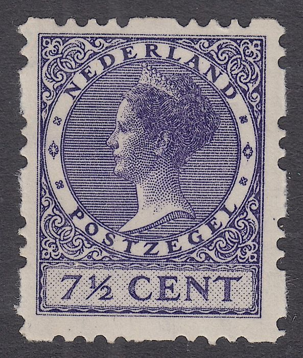 Netherlands 1927 - Three-holed, four-sided syncopation - NVPH R32