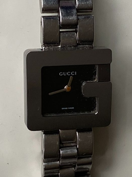 Gucci - G Quartz Movement Black Dial - 3600L - Mujer - 2000 - 2010