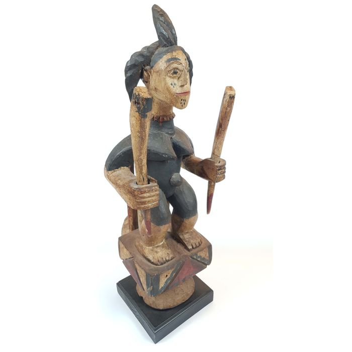 Ikenda Statuette, Ibo - Holz - Ancienne collection Alphonse Bermel (Allemagne, Berlin) - Nigeria
