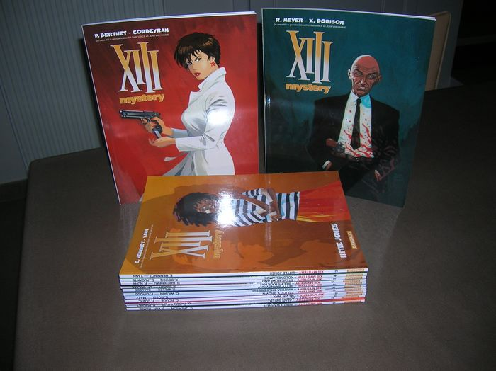 Xiii Mystery 1 t/m 13 - Diverse titels - Softcover - Eerste druk - (2008/2018)