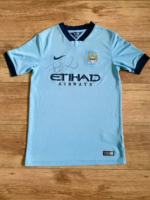 Manchester City - European Football League - Fernandinho - 2014 - Jersey