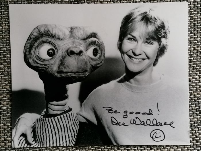 E.T. The Extra Terrestrial (1982) - Dee Wallace (Mother) - Autographe, Photographie, Signed in Person, Convention Dusseldorf Germany 2019