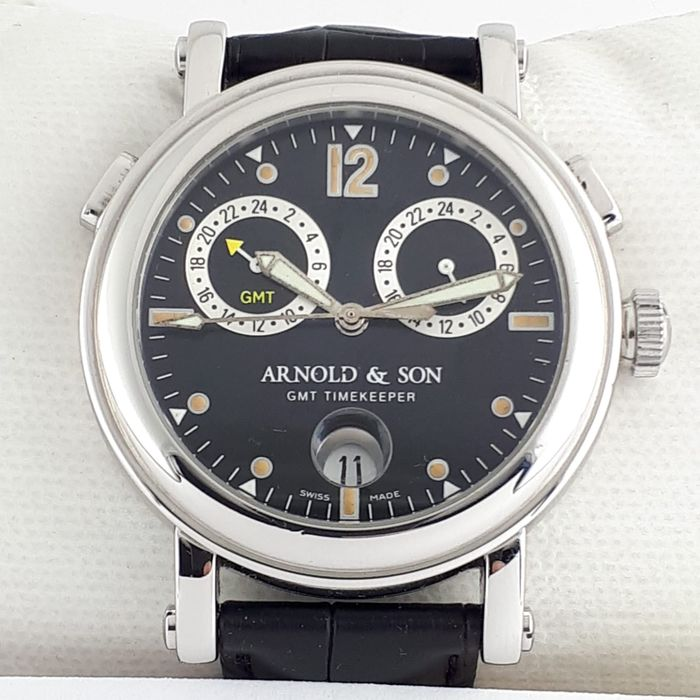 Arnold & Son - GMT Time Keeper II - Heren - 2011-heden