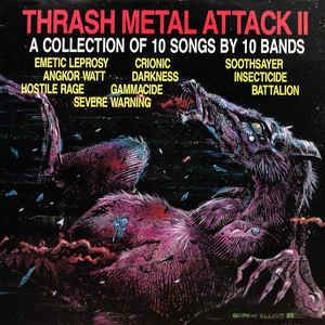 VV.AA.-  Thrash Metal Attack II   Axewitch – The Lord Of Flie- - Multiple artists - Multiple titles - LP's - 1983/1988