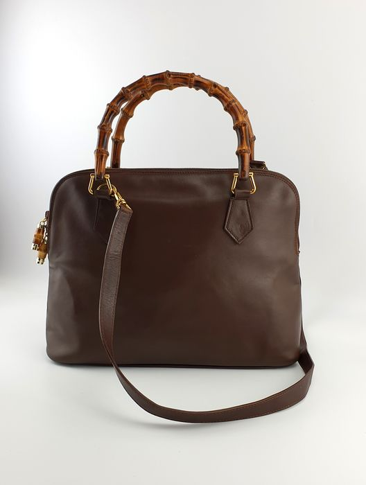 Gucci - Leather Bamboo - Schultertasche