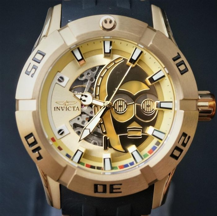 Star Wars - C-3PO - Invicta - Watch - Chronograph model - limited edition - with original box