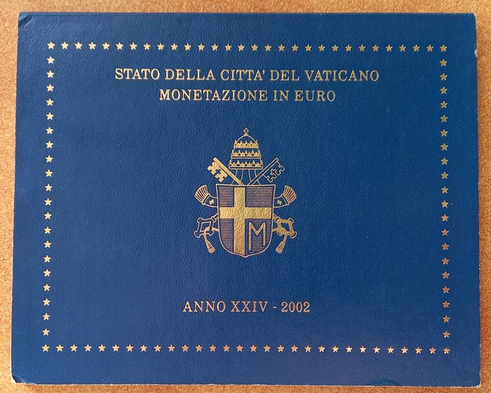 Vaticaan. Year Set 2002