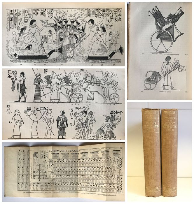 Sir J Gardner Wilkenson - A Popular Account of the Ancient Egyptians - 1854