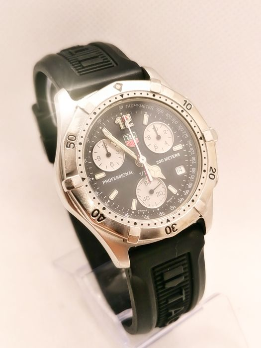 TAG Heuer - 2000 Series Professional 200 Chronograph - Ref. CK1110 - Homme - 2000-2010